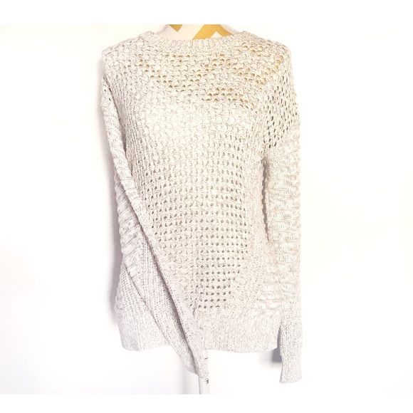 46dfc2791be GAP Sweaters - GAP COTTON BEIGE CABLE KNIT LONG SLEEVE SWEATER